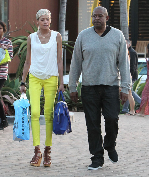 Forest Whitaker with beautiful, Wife Keisha Whitaker