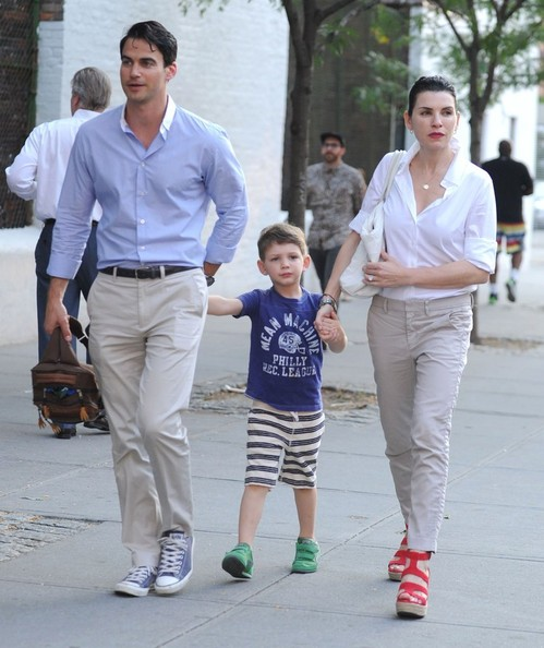 Photo of Julianna Margulies & her Son  Kieran Lindsay Lieberthal