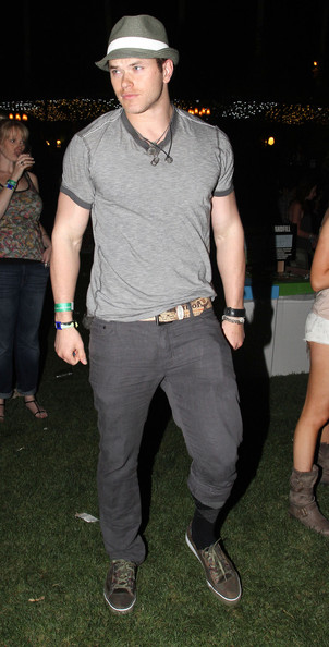Kellan Lutz - Kellan Lutz At The 2011 Coachella Music Festival