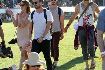 Kellan Lutz Coachella Music Festival Day 1
