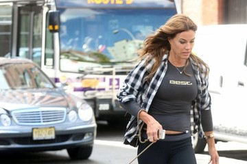 Kelly Bensimon Kelly Bensimon Walks Her Dog In NYC