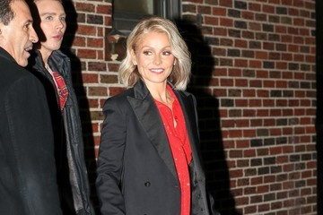 Kelly Ripa Kelly Ripa Leaves 'The Late Show With Stephen Colbert'
