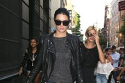 Kendall Jenner & Hailey Baldwin Go Shopping In NYC