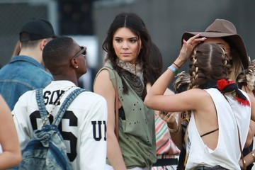 Kendall Jenner Celebs At Day 1 Week 2 Of Coachella