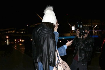 Kendall Jenner Kendall Jenner Lands at LAX