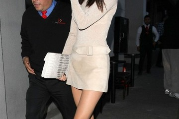 Kendall Jenner Celebrities Out For Dinner At Craig's