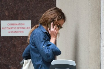 Keri Russell Keri Russell Runs Some Errands In NYC