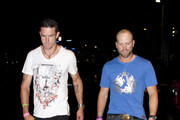 Kevin Pietersen & Matt Prior have a night out in Sydney with friends celebrating England's win in the 5 day Ashes test.