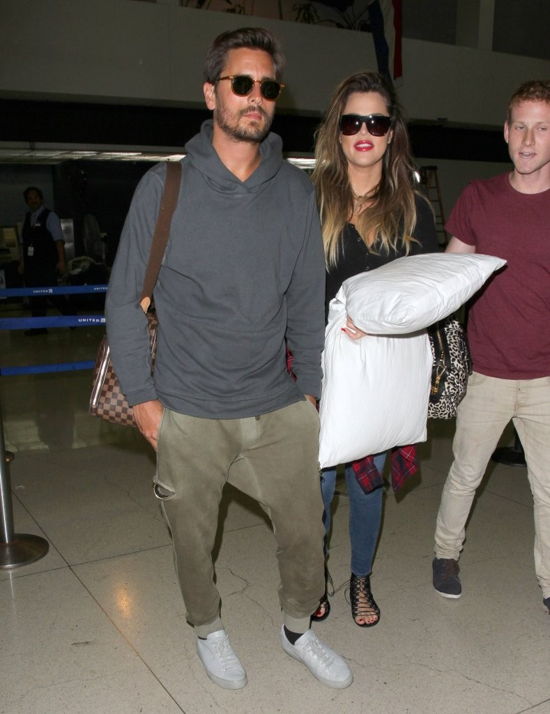 Khloe Kardashian In Khloe Kardashian And Scott Disick At
