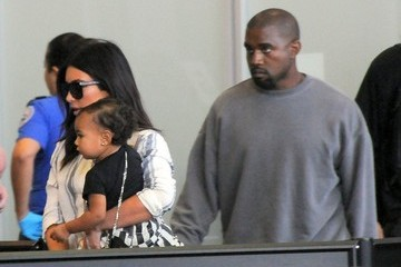 Kim Kardashian Kim Kardashian and Family at LAX — Part 2