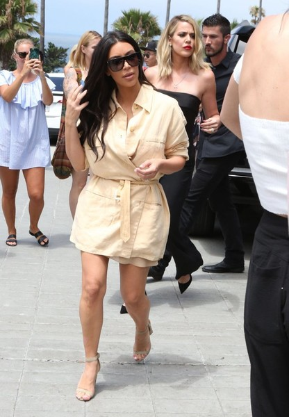 The Kardashian Family Is Seen at the La Valencia Hotel