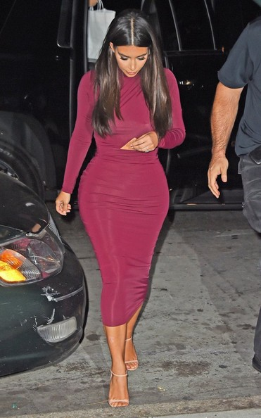 Kim Kardashian - Kim Kardashian Out for Dinner in NYC