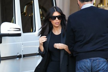 Kim Kardashian Kourtney Kardashian's Baby Shower