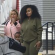 King Cairo Stevenson Blac Chyna Takes Her Son to a Bowling Alley in Woodland Hills