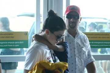 King Cairo Stevenson The Kardashian Family Departing On A Flight In Costa Rica