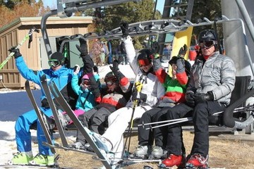 Kingston Rossdale Gwen Stefani and Gavin Rossdale Hit The Slopes In Mammoth