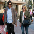 Jason Boesel Kirsten Dunst And Jason Boesel Out Shopping At The Grove