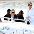 Jason Boesel Kirsten Dunst Leaving A Yacht During 64th Annual Cannes Film Festival