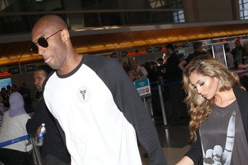 Kobe Bryant Kobe Bryant Spotted at LAX