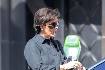 Kris Jenner Kris Jenner Goes Shopping WIth Her Mother in Beverly Hills