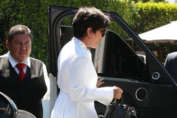 Kris Jenner Kris Jenner Lunches at Cecconi's