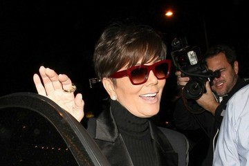 Kris Jenner Celebrities Dine Out at Craig's Restaurant