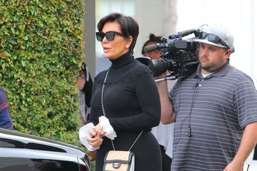 Kris Jenner Kris Jenner Arrives at Studio City