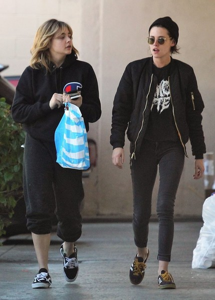 Kristen Stewart and Chloe Moretz Are Seen Out in Los Feliz []
