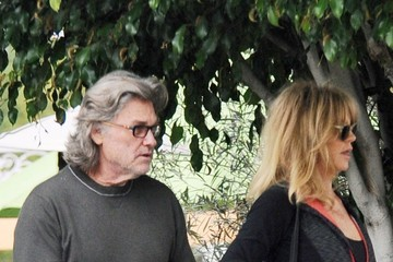 Kurt Russell Goldie Hawn and Kurt Russell Get Breakfast Together in LA