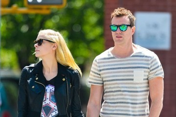 Kyle Newman Jaime King Out With Her Husband in NYC 2