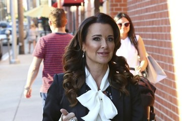 Kyle Richards Kyle Richards Heads Out and About in Beverly Hills