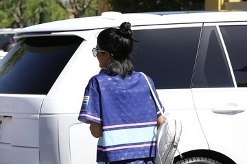 Kylie Jenner Tyga Is Spotted at The Commons at Calabasas