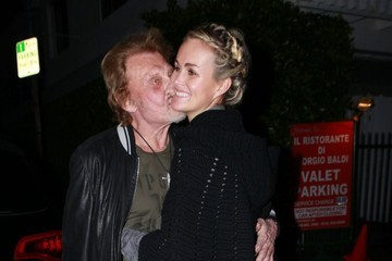 Laeticia Hallyday Johnny and Laeticia Hallyday Go Out to Eat