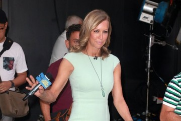 Lara Spencer Celebrities Visit 'Good Morning America'