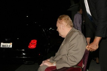 Larry Flynt Larry Flynt Goes Out to Eat in Beverly Hills