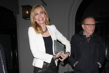Larry King Celebrities Dine Out at Craig's Restaurant