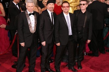 Larry Mullen Jr Arrivals at the 86th Annual Academy Awards — Part 3