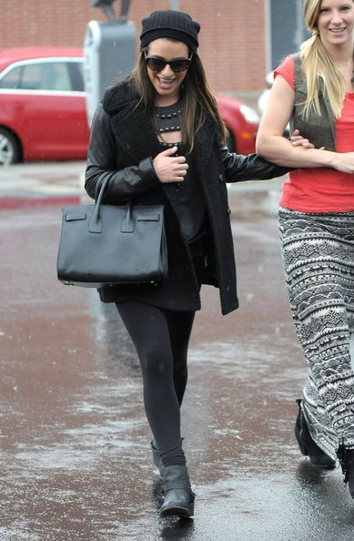 Lea Michele and Heather Morris Out in Los Angeles
