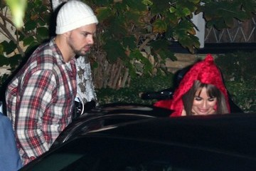 Lea Michele Stars at Kate Hudson's Halloween Party — Part 4
