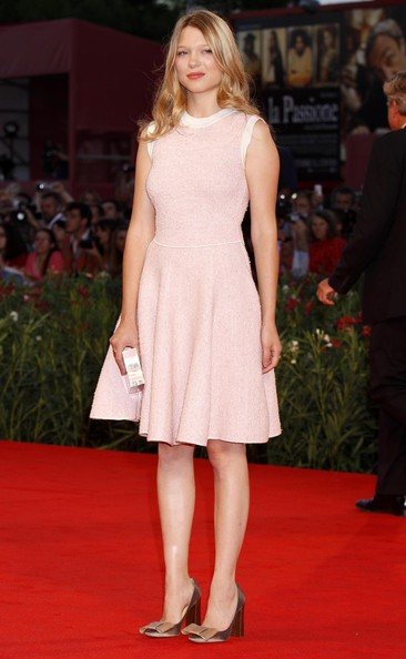 Lea Seydoux Celebrities attending the 'Somewhere' premiere at the 67th Venice Film Festival in Venice, Italy.