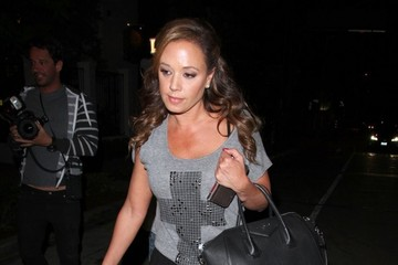 Leah Remini Jennifer Lopez Gets Dinner in West Hollywood