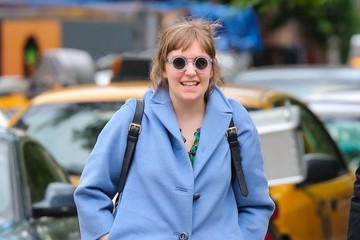 Lena Dunham Lena Dunham & B.J. Novak Out And About In New York