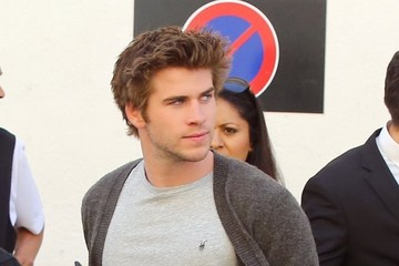 Liam Hemsworth 'Hunger Games' Cast Head Out in Cannes
