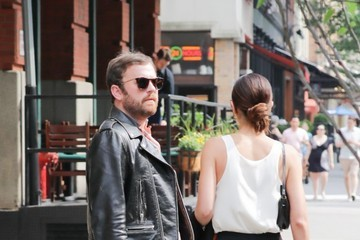 Lily Aldridge Lily Aldridge & Caleb Followill Out In NYC
