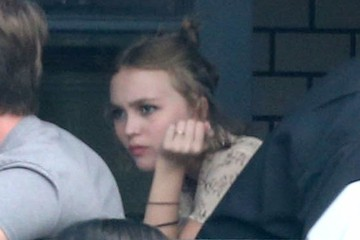 Lily-Rose Depp Lily-Rose Depp Gets Lunch in Hollywood