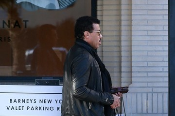 Lionel Richie Lionel Richie and Sofia Rickie Shop at Barney's New York
