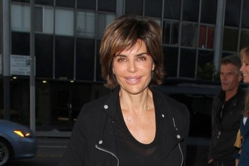 Lisa Rinna Lisa Rinna and Harry Hamlin Grab Dinner