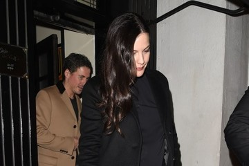 Liv Tyler David Beckham's Fashion Brand Launch Party Departures