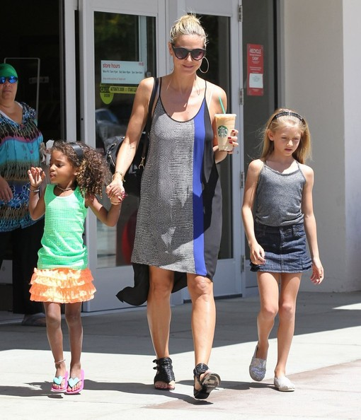 Lou Samuel Pictures - Heidi Klum & Family Shopping At Target - Zimbio