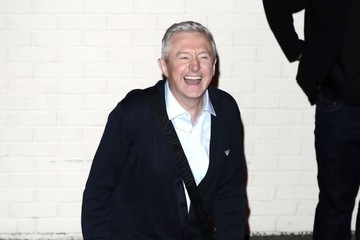 Louis Walsh 'X Factor' Judges Leave the Studio in London